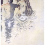 A. M. HOCH, Two and Half Breathers, oil on canvas, 72 x 48 inches, 1986