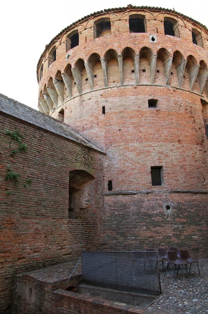 Museo del Castello (Castle Museum), Rocca Sforzesca (Castle Tower), Bagnara di Romagna, Italy