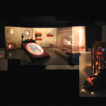 A. M. HOCH, Mitosis: Formation of Daughter Cells, interdisciplinary installation at the Beall Center for Art and Technology, Irvine, California, 43 x 60 feet, 2004