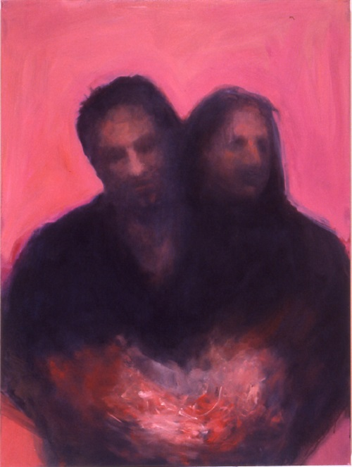 A. M. HOCH, Couple #2, oil on canvas, 48 x 36 inches, 2001