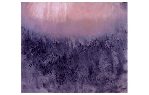 A. M. HOCH,  September 11 (large), oil on canvas, 58 x 68 inches, 2001
