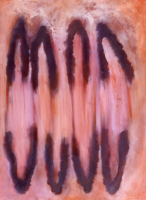 A. M. HOCH, Big Pink, oil on canvas, 50 x 60 inches, 1997