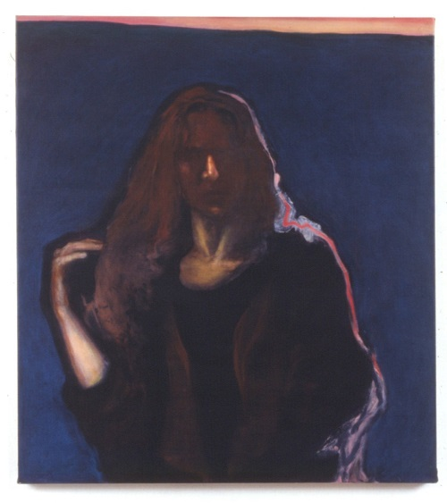 A. M. HOCH, Self-portrait, oil on canvas, 38 x 34 inches, 1991
