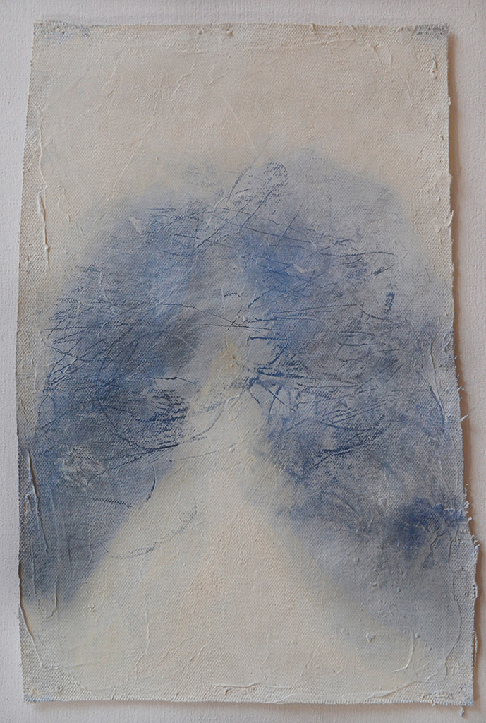 A. M. HOCH, Little Breath, oil on canvas, approximately, 32 x 20 cm (12.5 x 8 inches), 2009
